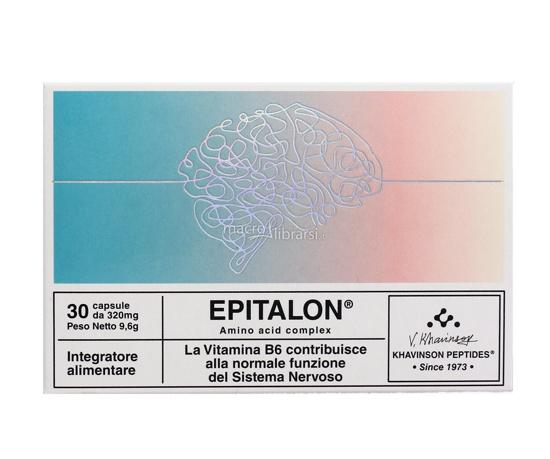 Immagine di Epitalon - capsule con peptidi e vitamina B6